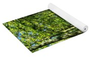 Cypress Trees Yoga Mat