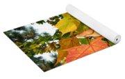 Days Of Autumn 24 Yoga Mat