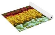 Endless Beautiful Tulip Fields Yoga Mat