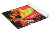 Fire Hornet Yoga Mat
