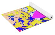 Hawaiian Design Yoga Mat