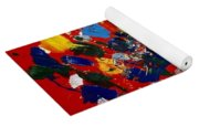 Hidden Creatures Yoga Mat