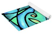Leaves And Curves Art Nouveau Style II Yoga Mat