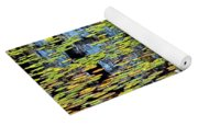 Lilly Pond Painting Yoga Mat