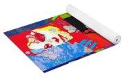 Michael Jackson Andy Warhol Style Yoga Mat