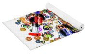 Monster Toy Soldiers Yoga Mat