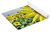 Naturalness And Flowers 51 Yoga Mat