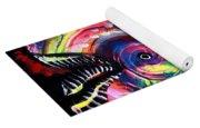 Neon Piranha Yoga Mat