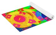 Poker Stacks Yoga Mat