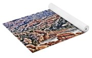 Prescott Arizona Watson Lake Rocks, Hills Water Sky Clouds 3122019 4867 Yoga Mat