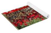 Red Poppy Yoga Mat