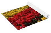 Row After Row After Row Of Tulips Yoga Mat