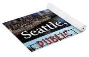 Seattle Washington Waterfront 02 Yoga Mat