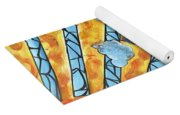 Shattered Skies Yoga Mat