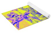 Stamps And Stallions Yoga Mat