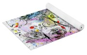 Summer Day By The Artist Catalina Lira Yoga Mat