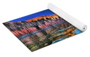 Swells And Reflections Lake Powell Yoga Mat