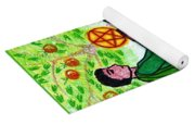 Tarot Of The Younger Self Knight Of Pentacles Yoga Mat