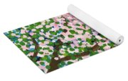 The Scenery Of Spring Yoga Mat