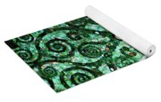Tree Of Life Abstract Expressionism Yoga Mat