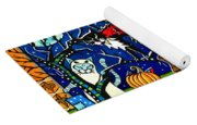 Trick Or Treat Halloween Cats Yoga Mat