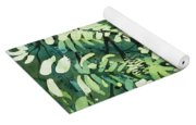 Watercolor - Rainforest Canopy Design Yoga Mat