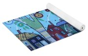 Whimsy Viilage Yoga Mat