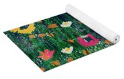 Wildflowers 2- Art By Linda Woods Yoga Mat