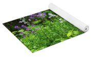 Wildflowers On Green's Hills Yoga Mat