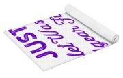 Wrestling Singlet Washin Mom Purple Gift Dark Yoga Mat