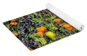 Yellow Poppies Of California Yoga Mat