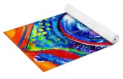 Colorful Comeback Fish Yoga Mat