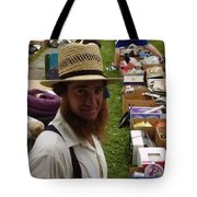 Amish In The City Tote Bag