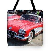 Chevrolet Corvette Tote Bag