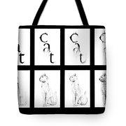 # 1 Cat Portrait. Tote Bag