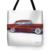 1956 Oldsmobile Super 88 Tote Bag