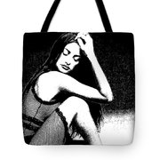# 5 Penelope Cruz Portrait. Tote Bag