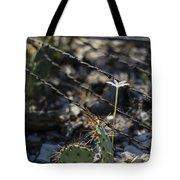A Flower Among Thorns Tote Bag