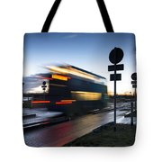 A Guided Bus Cambridgeshire Uk Tote Bag
