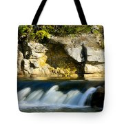 A Quiet Place  Waterfall Tote Bag