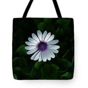 One Single Flower Tote Bag