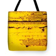 Abstracted In Ochre Tote Bag