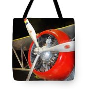 Airplane - F3f-2 Biplane Tote Bag