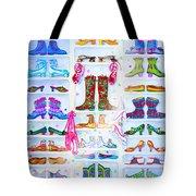 Alaska Berry Fairy Shoon Tote Bag