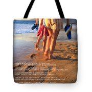 Always Ourselves We Find In The Sea Tote Bag