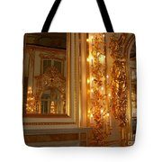 Ancient Hall In Museum Tote Bag