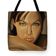 Angelina Jolie 2 Tote Bag