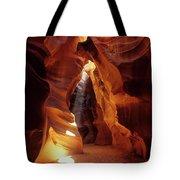 Antelope Canyon Ray Of Hope Tote Bag
