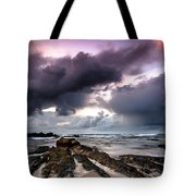 Around The World On A Boat Rock Tote Bag
