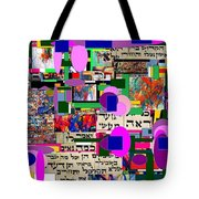 Atomic Bomb Of Purity 4 Tote Bag by David Baruch Wolk